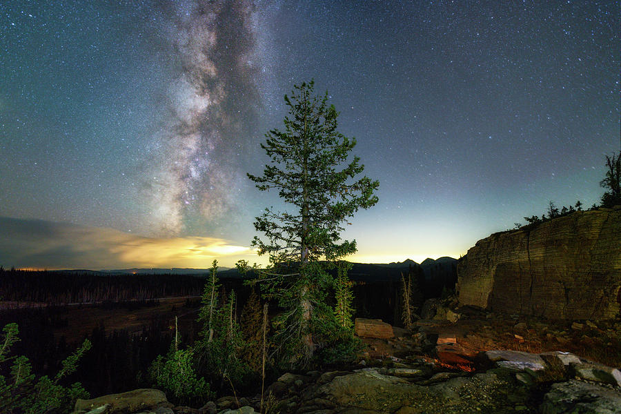 Milky Way in the Uinta Mountains by Michael Ash
