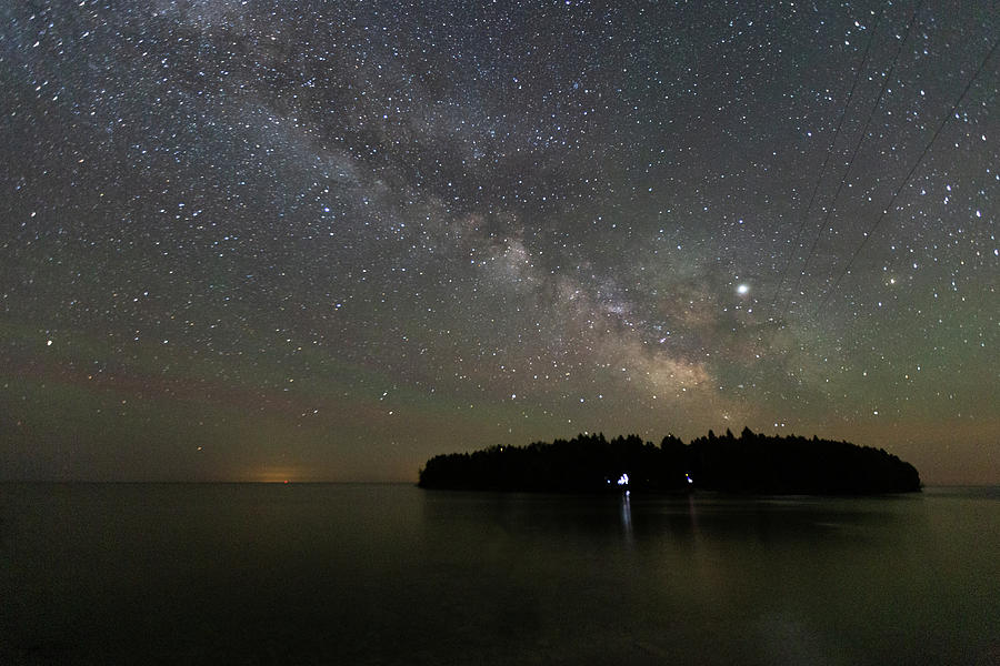 Milky Way Over Cana Island by Paul Schultz