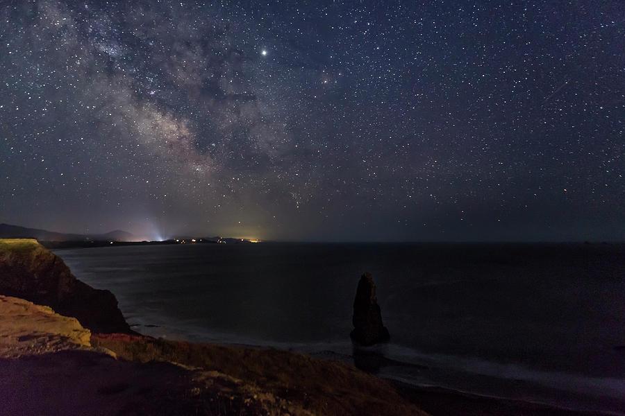 Milky Way Over Cape Blanco by Belinda Greb