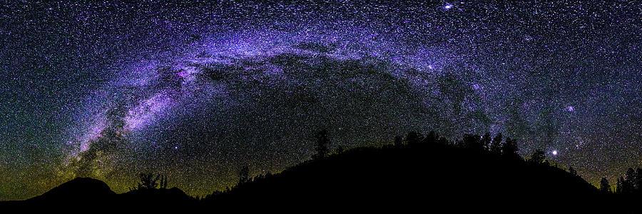 Milky Way Over Colorado Country Photograph by Photo By Matt Payne Of Durango, Colorado