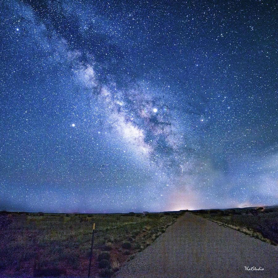 Milky Way over El Dorado Avenue by Tim Kathka