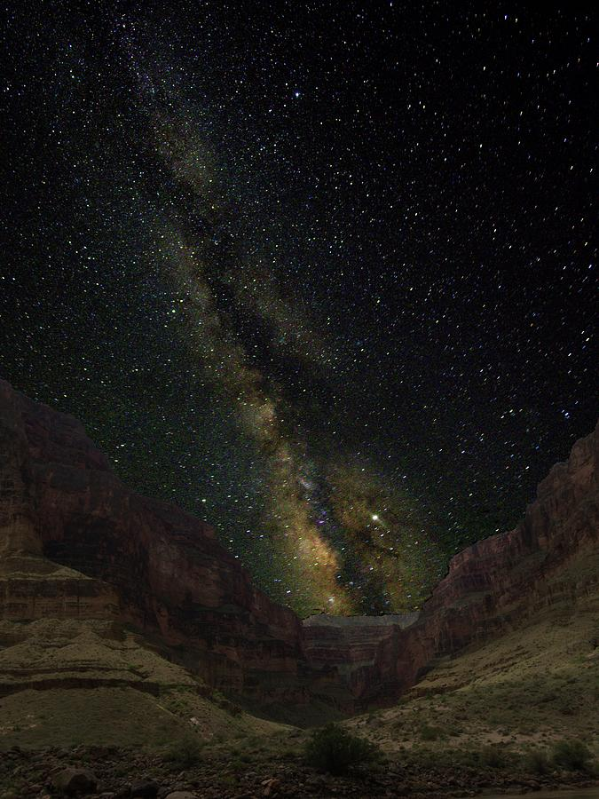 Milky Way Over Marble Canyon by Walt Sterneman