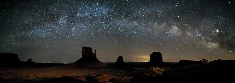 Milky Way Over Monument Valley by James Capo