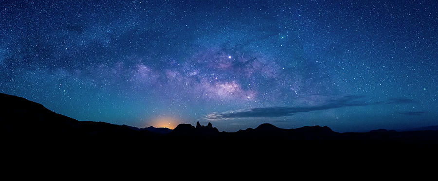 Milky Way Over Mule Ears Viewpoint Photograph