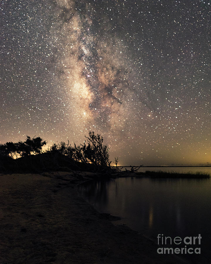 Milky Way Over Pamlico Sound by Terry Rowe