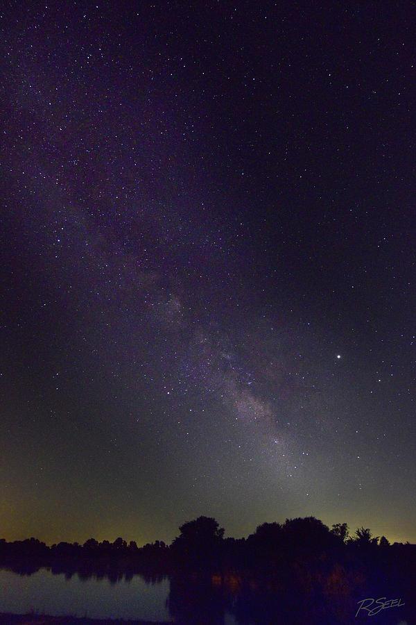 Milky Way Over Prairie Lake by Rod Seel