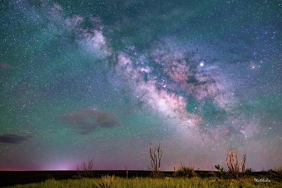 Milky Way over the Colorado Prairie by Tim Kathka