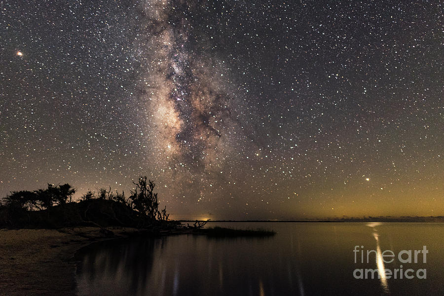 Milky Way Over the Outer Banks by Terry Rowe