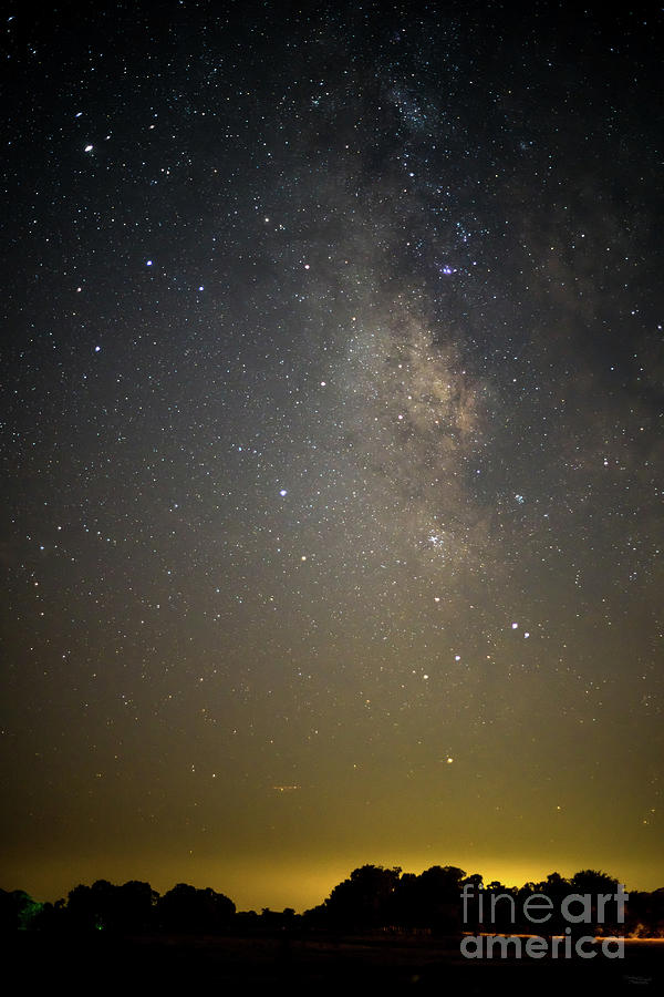 Milky Way Over The Ozarks by Jennifer White
