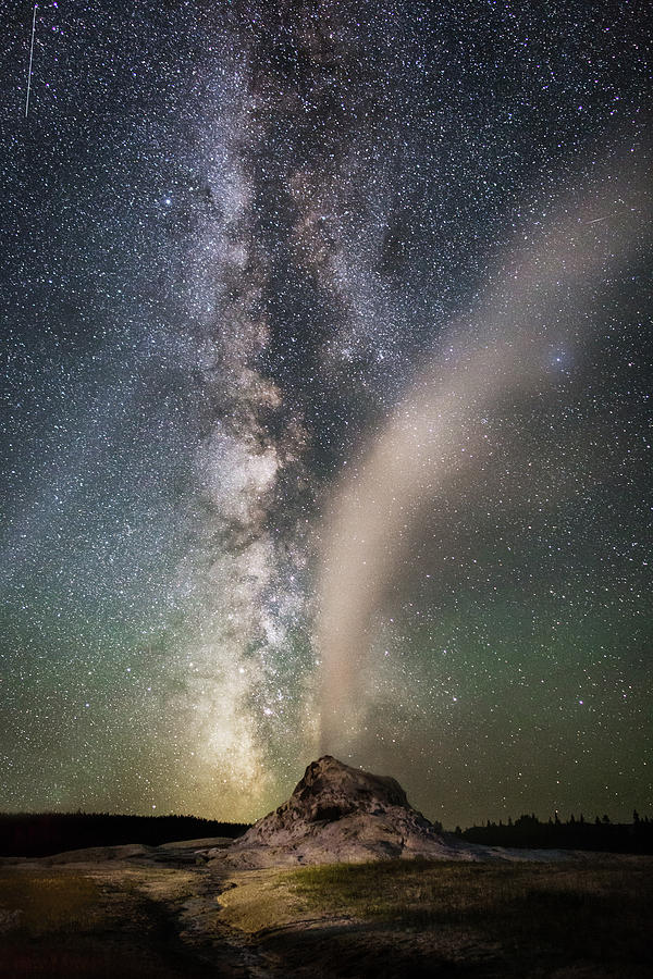 Milky Way Over White Dome by Eilish Palmer