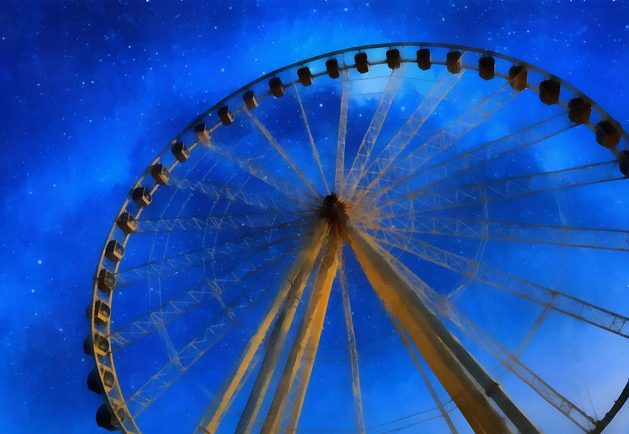 Milky Way Mixed Media - Milky Way Ride by Dan Sproul