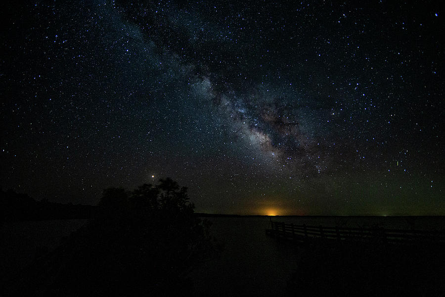 Milkyway Rising. by Pete Federico
