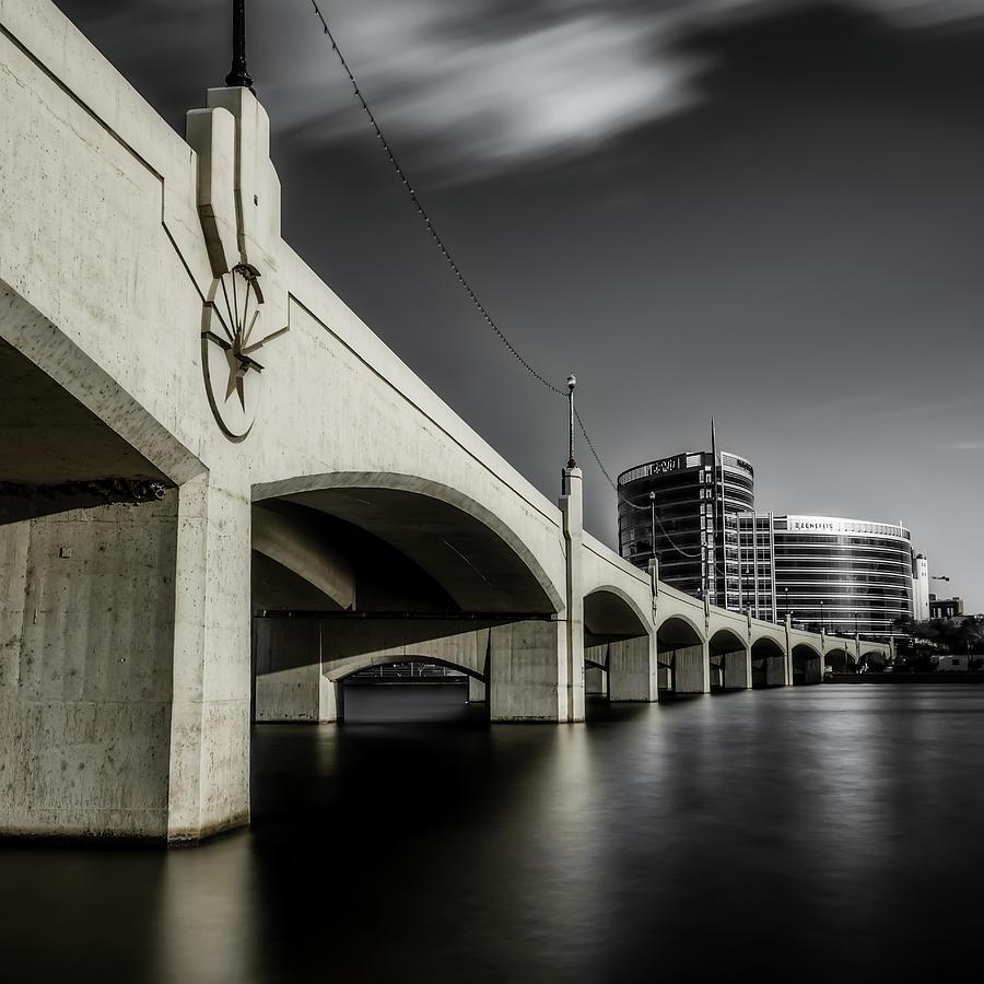Mill Ave Bridge by Ken Mickel