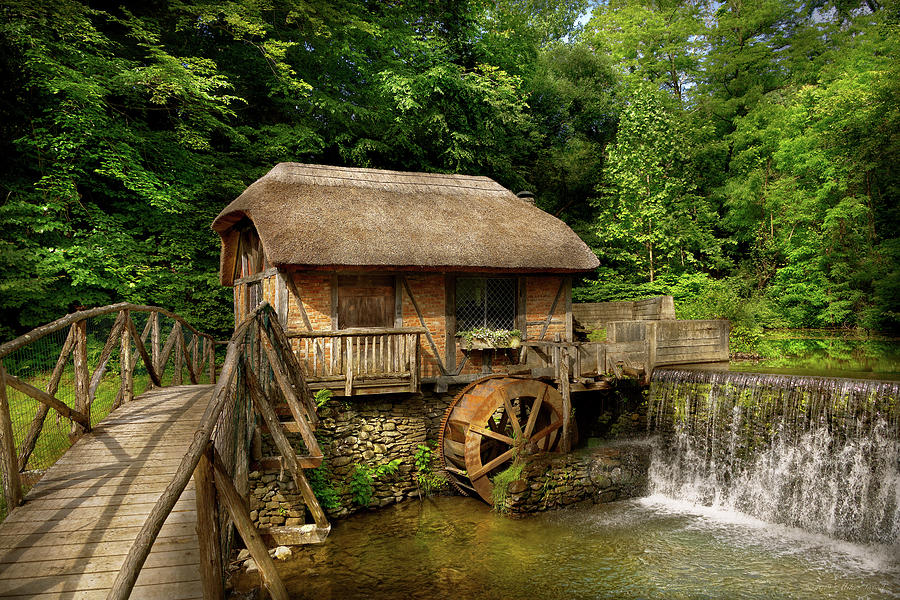 Mill - Dard Hunter Mill by Mike Savad