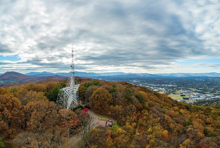 Mill Mountain Fall 2 by Star City SkyCams