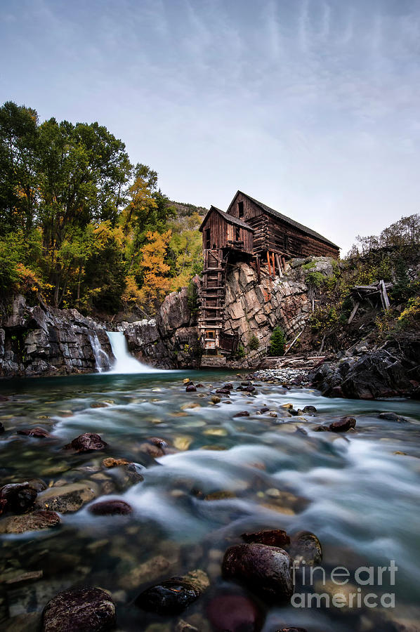 Crystal Photograph - Mill On Crystal River by Joe Sparks