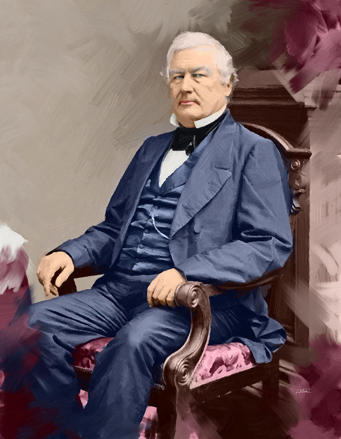 Millard Fillmore  - DWP1909013 by Dean Wittle