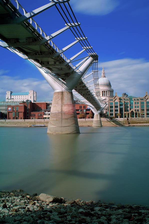 Millenium Bridge Photograph by Gavin Parsons