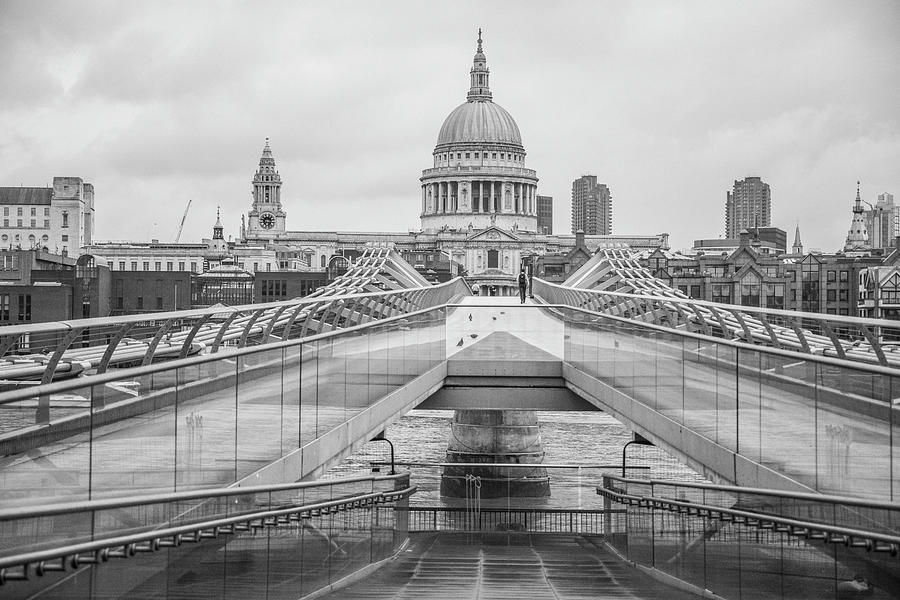Millennium Bridge London by John McGraw