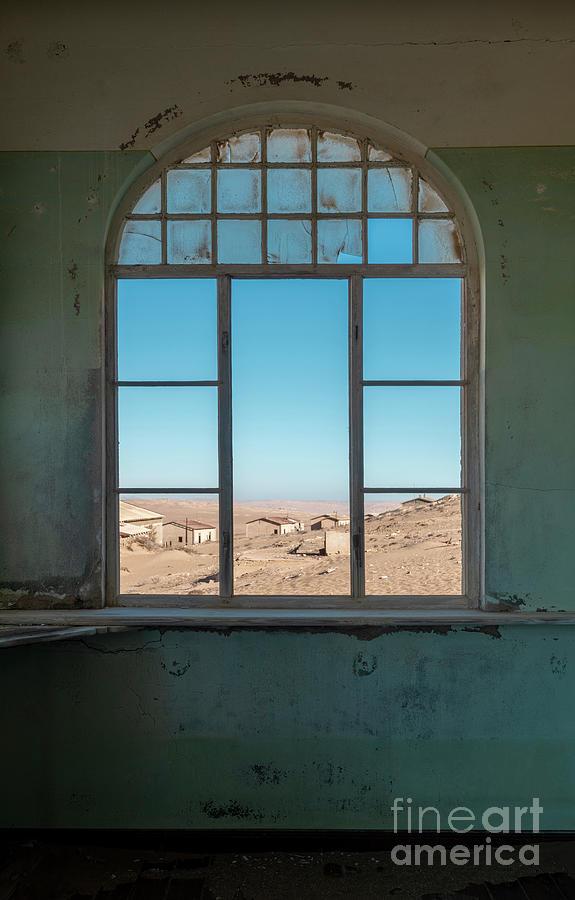 Architecture Photograph - Million Dollar View - Kolmanskop, Namibia by Sandra Bronstein
