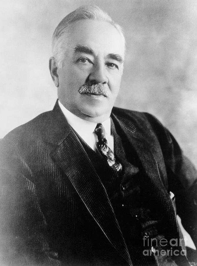 Milton S. Hershey Photograph by Bettmann