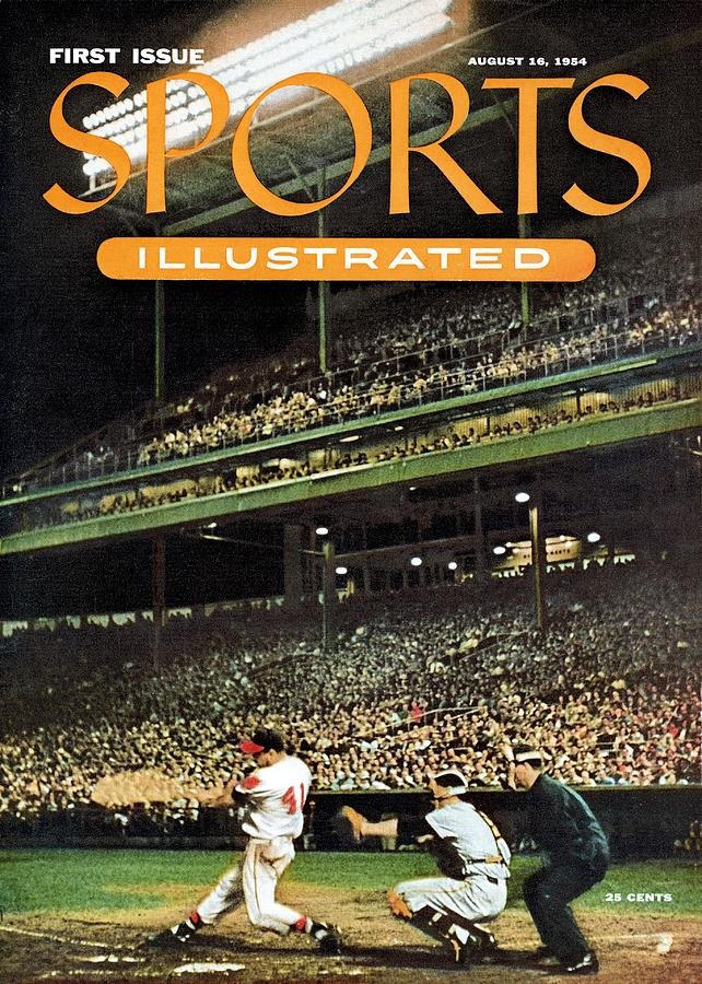 Milwaukee Braves Eddie Mathews... Sports Illustrated Cover Photograph by Sports Illustrated