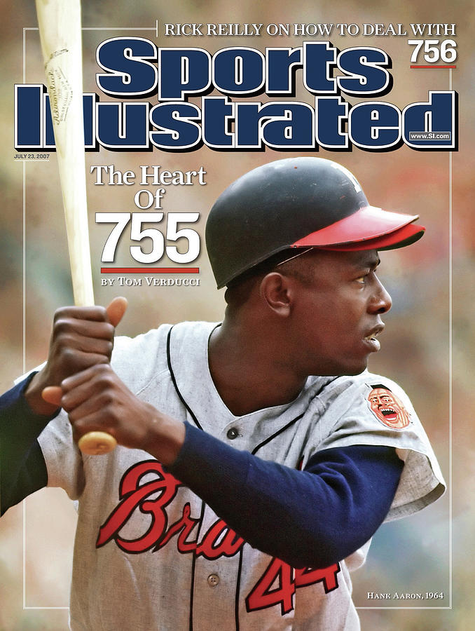 Milwaukee Braves Hank Aaron Sports Illustrated Cover Photograph by Sports Illustrated