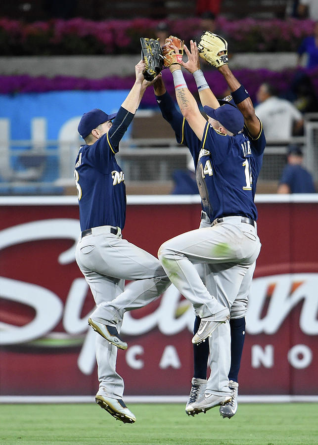 Milwaukee Brewers V San Diego Padres Photograph by Denis Poroy