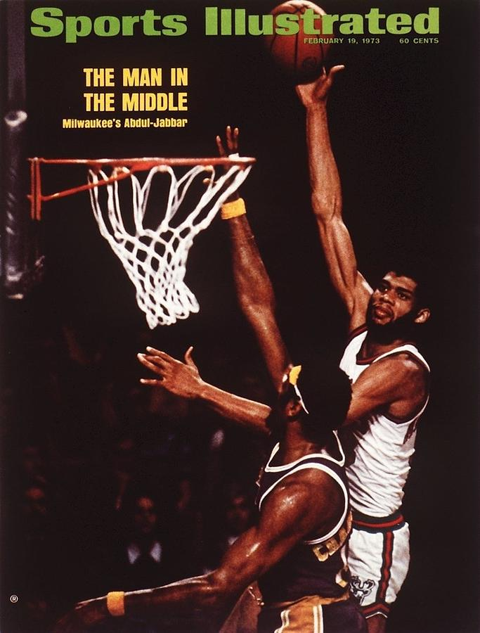 Milwaukee Bucks Kareem Abdul-jabbar... Sports Illustrated Cover Photograph by Sports Illustrated