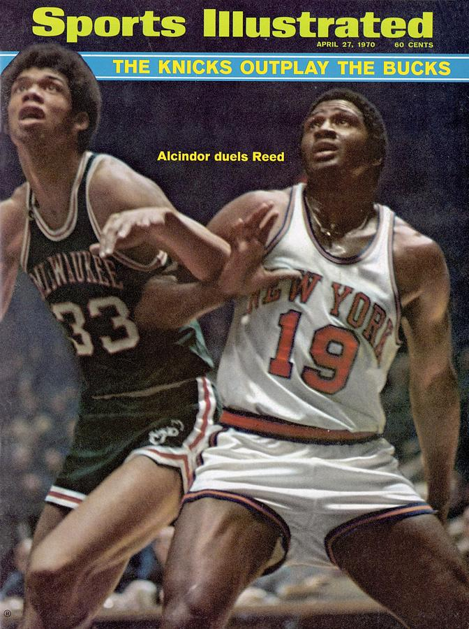 Milwaukee Bucks Lew Alcindor, 1970 Nba Playoffs Sports Illustrated Cover Photograph by Sports Illustrated
