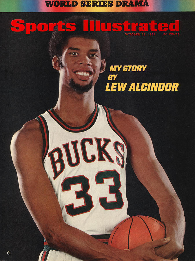 Milwaukee Bucks Lew Alcindor Sports Illustrated Cover Photograph by Sports Illustrated