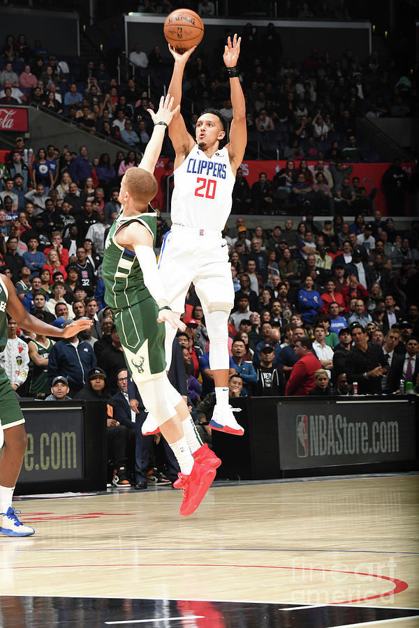Milwaukee Bucks V La Clippers Photograph by Andrew D. Bernstein