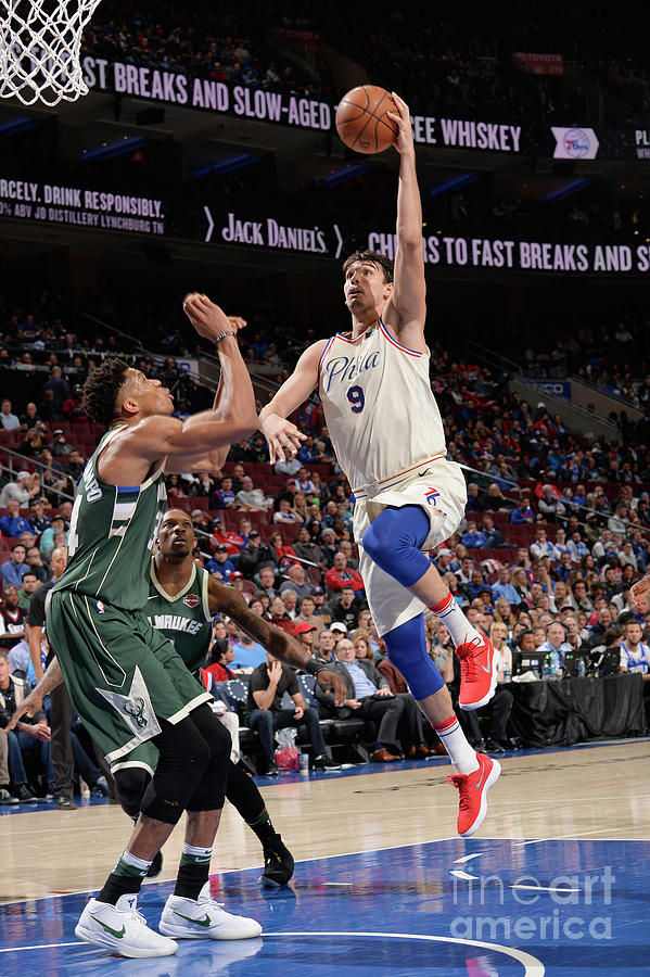 Milwaukee Bucks V Philadelphia 76ers Photograph by David Dow