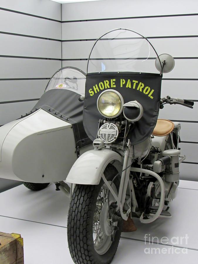Milwaukee Harley Shore Patrol by Roberta Byram