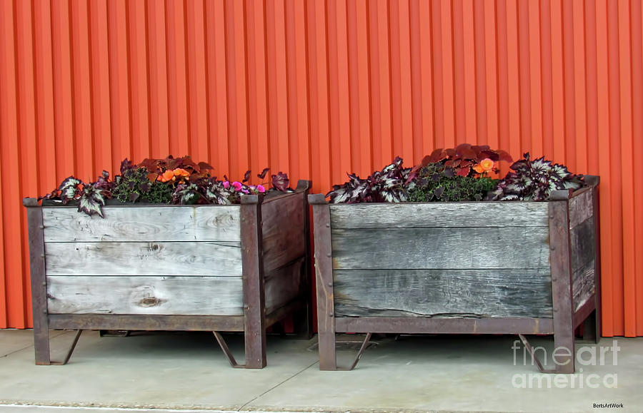 Milwaukee Modern and Rustic with Flowers by Roberta Byram