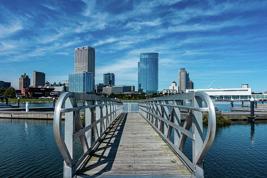 Milwaukee Skyline by Randy Scherkenbach