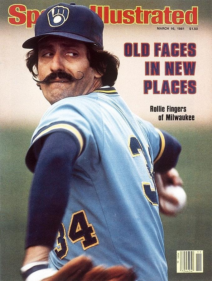 Milwawkee Brewers Rollie Fingers Sports Illustrated Cover Photograph by Sports Illustrated