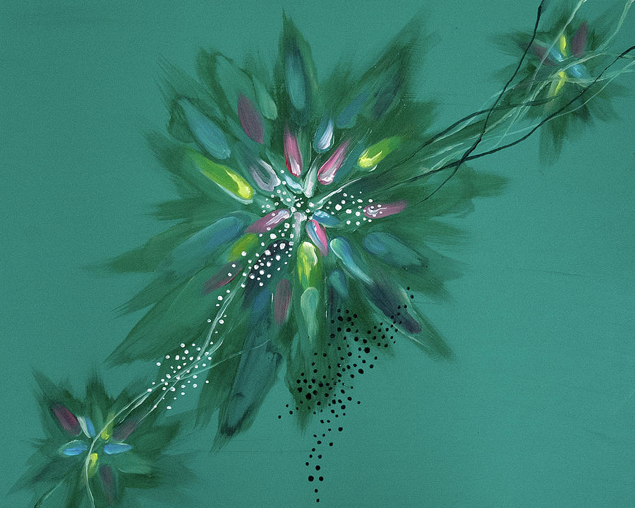 Woman Painting - Mind #07 by Natsumi Yamaguchi