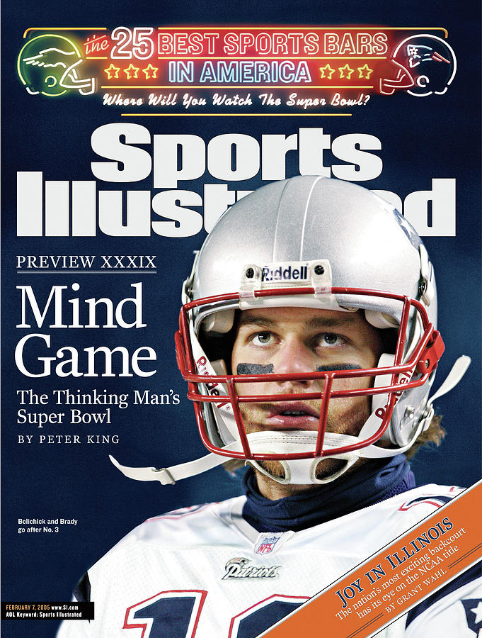Mind Game The Thinking Mans Super Bowl Xxxix Preview Sports Illustrated Cover Photograph by Sports Illustrated