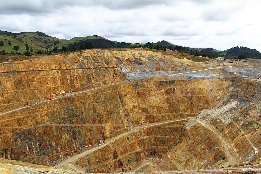 Mine At Waihi Photograph by Melissa Macgill