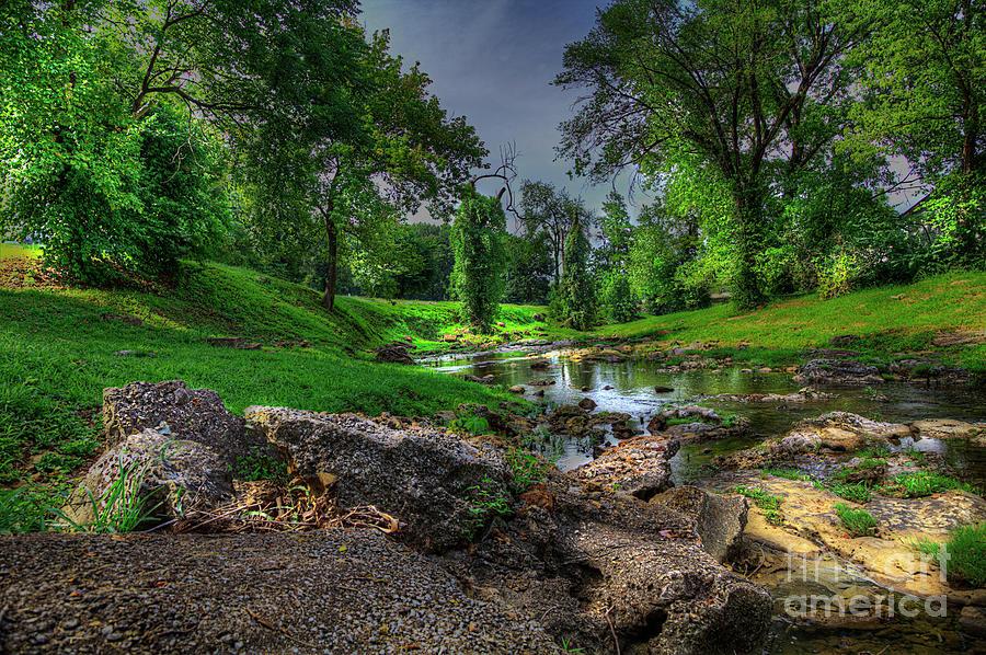 Travel Photograph - Mine Au Breton Creek by Larry Braun