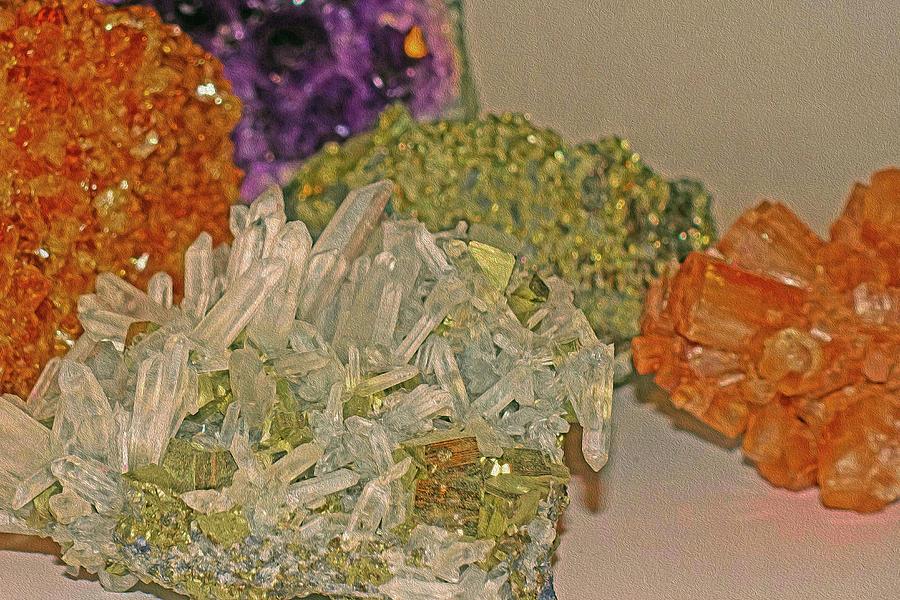 Medley Photograph - Mineral Medley 7 by Lynda Lehmann