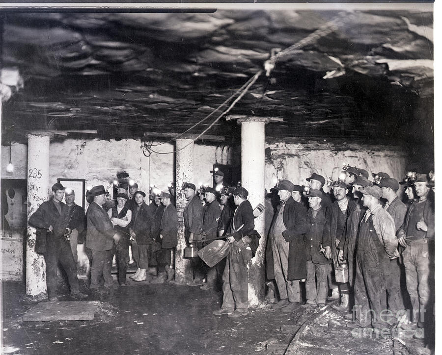Miners Report To Work After Strike Photograph by Bettmann