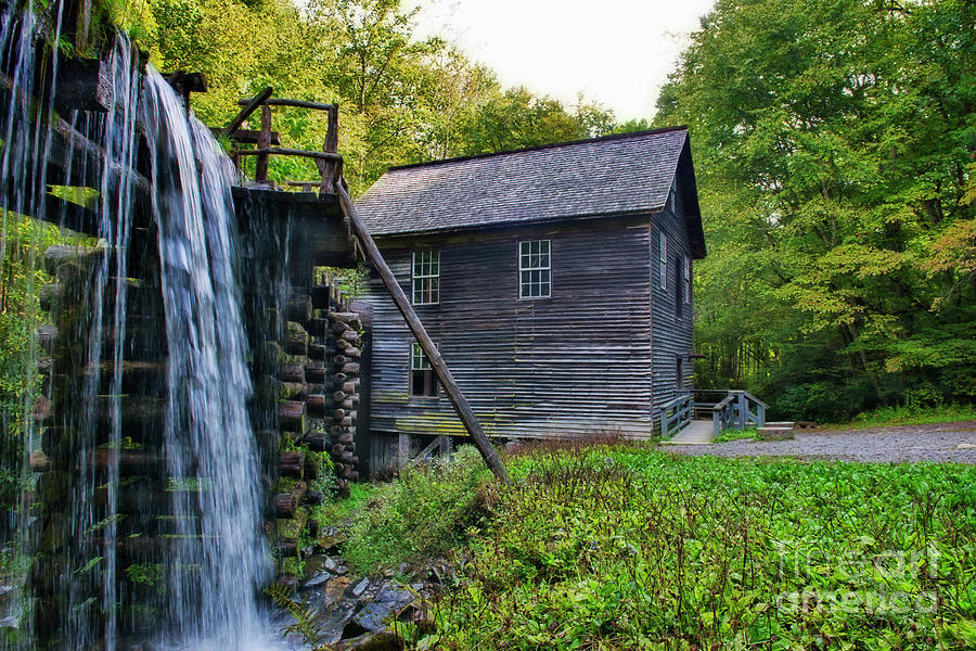 Mingus Mill Smoky Mountain National Park by David Arment