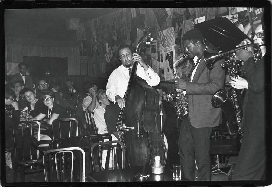 Mingus Performs At The Five Spot Cafe Photograph by Fred W. McDarrah