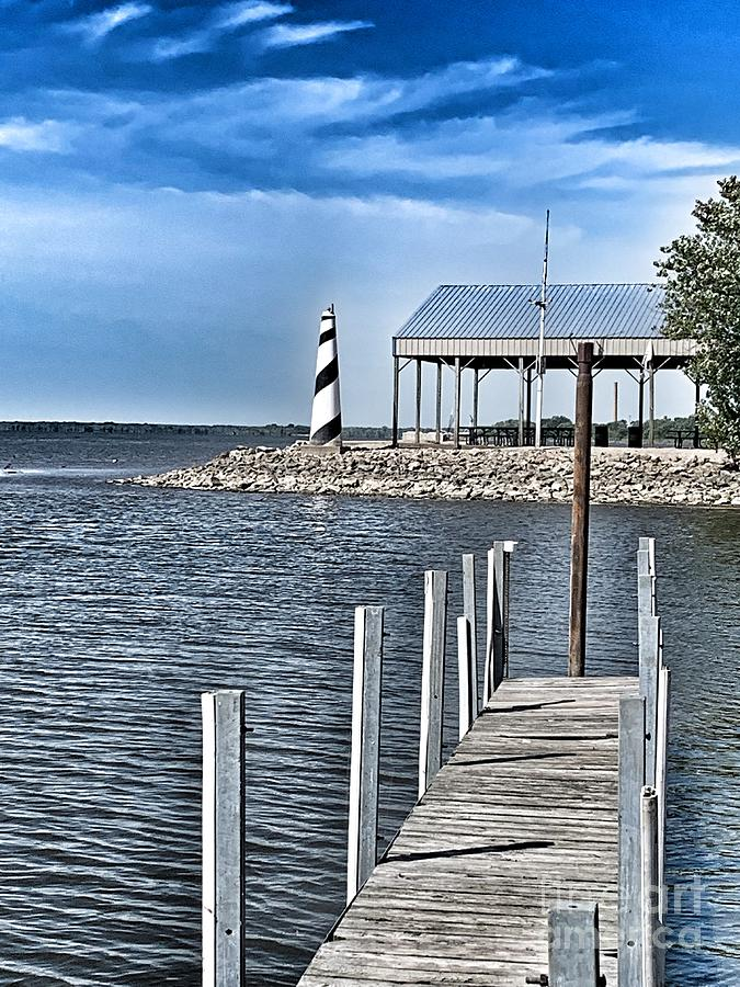 Mini lighthouse by Pamela Walrath