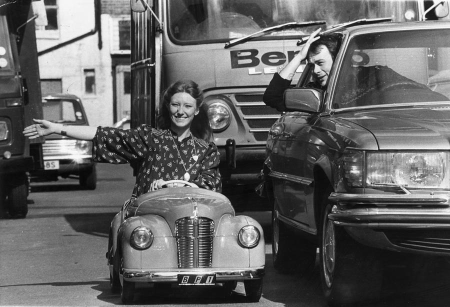 Mini Motor Photograph by Evening Standard