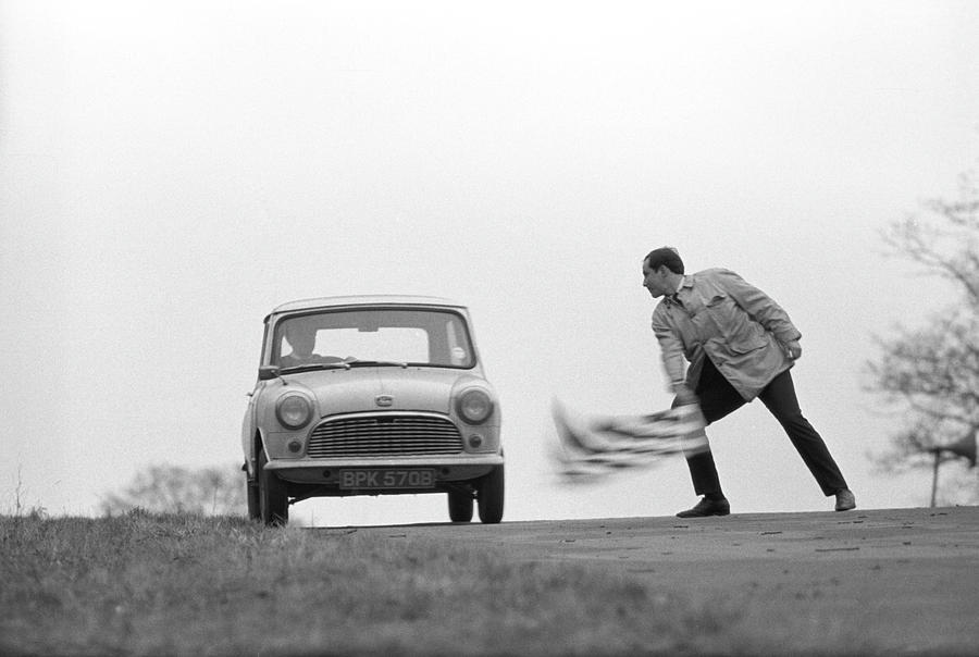 Mini Rally Photograph by Bert Hardy Advertising Archive