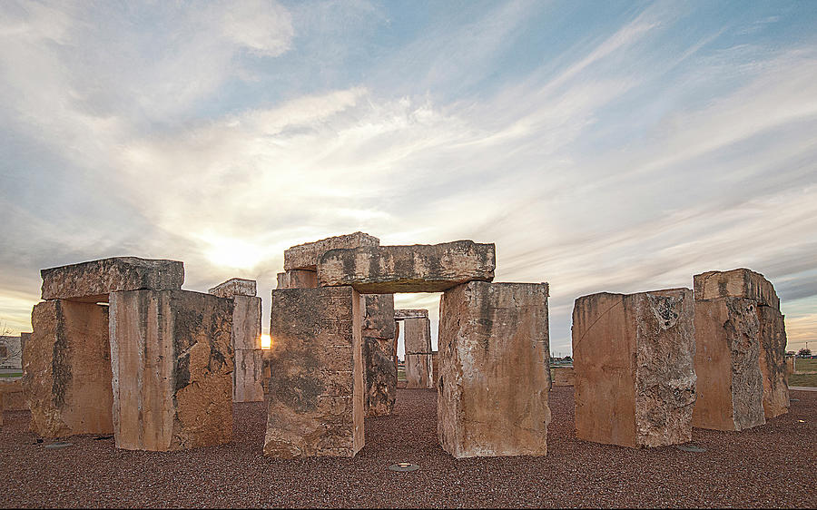 Mini Stonehenge by Scott Cordell
