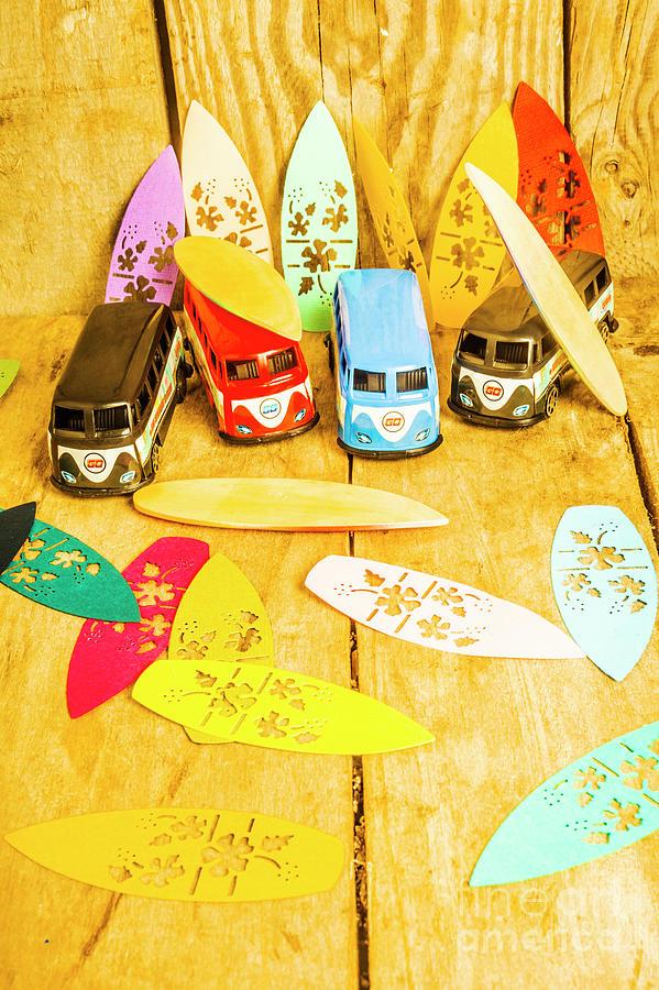 Summer Photograph - Mini Van Adventure by Jorgo Photography - Wall Art Gallery